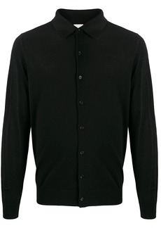 Paul Smith classic collar fine knit cardigan