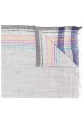 Paul Smith colorful stripes scarf