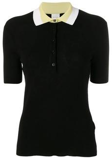 Paul Smith contrast collar polo shirt