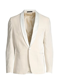 Paul Smith Contrast Lapel Velvet Jacket