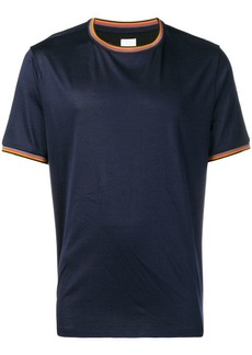 Paul Smith contrast neck and sleeve T-shirt