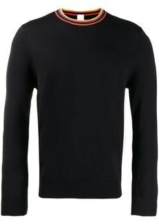 Paul Smith contrast neck sweater