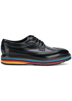Paul Smith contrast-sole derby shoes