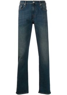Paul Smith contrast stitching slim-fit jeans