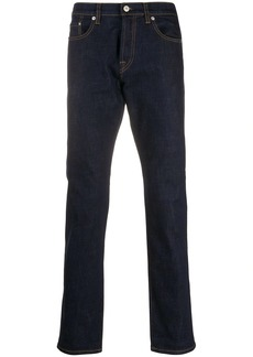 Paul Smith contrast-stitching straight jeans