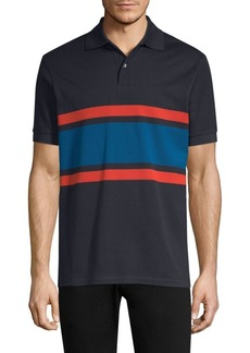 Paul Smith Cotton Stripe Polo
