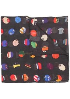 4022ec3eeeacb Paul Smith Cycle Dot print scarf
