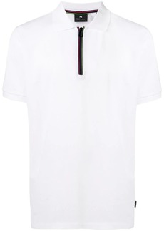 Paul Smith Cycle Stripe zip polo shirt