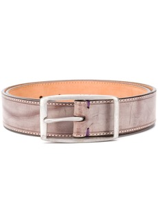 Paul Smith distressed leather belt