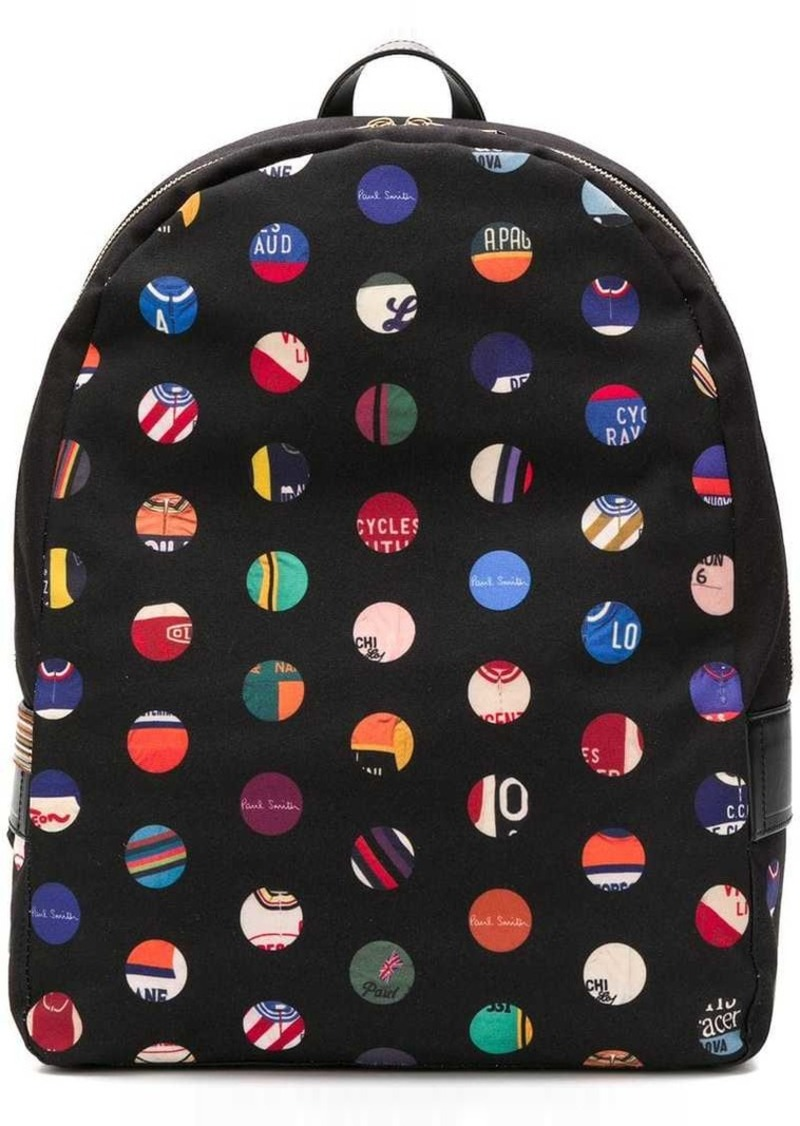 Paul Smith dot print backpack