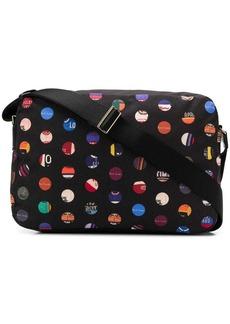Paul Smith dot print messenger bag