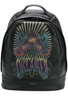 Paul Smith Dreamer print backpack