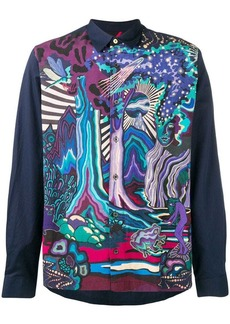 Paul Smith Dreamer print shirt