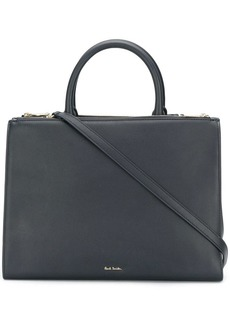 Paul Smith embossed logo tote