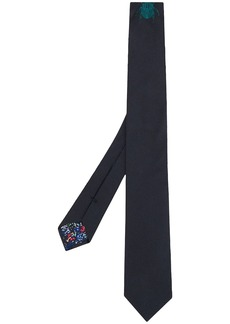 Paul Smith embroidered beetle tie