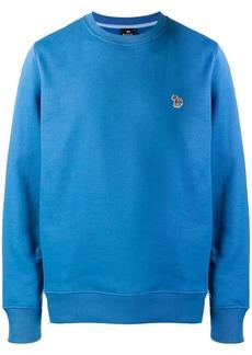 Paul Smith embroidered zebra logo sweatshirt