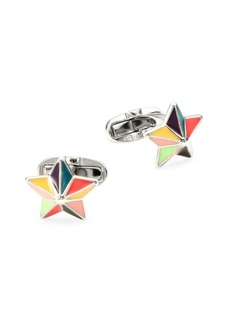 Paul Smith Enamel Star Cufflinks