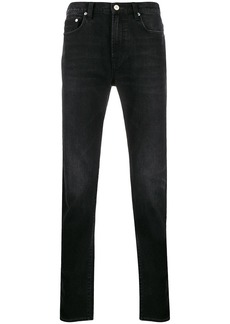 Paul Smith faded mid-rise straight jeans