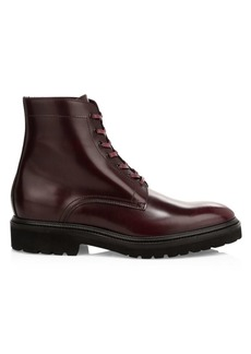Paul Smith Farley Leather Lace-Up Boots