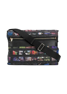 Paul Smith film print messenger bag