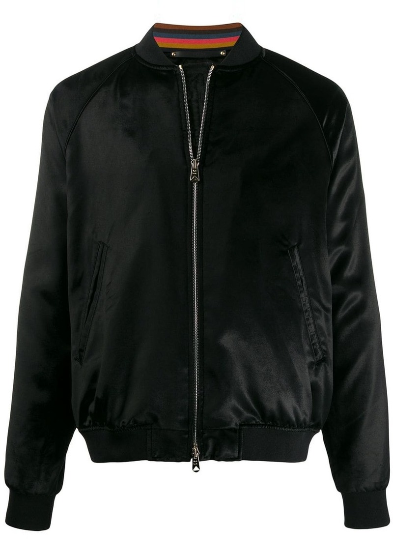 Paul Smith fitted bomber jacket