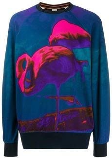 Paul Smith flamingo print sweatshirt