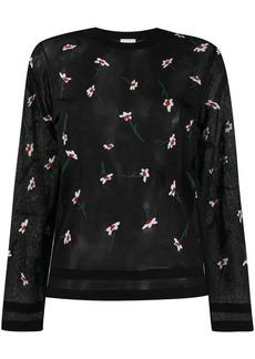 Paul Smith floral motif jumper