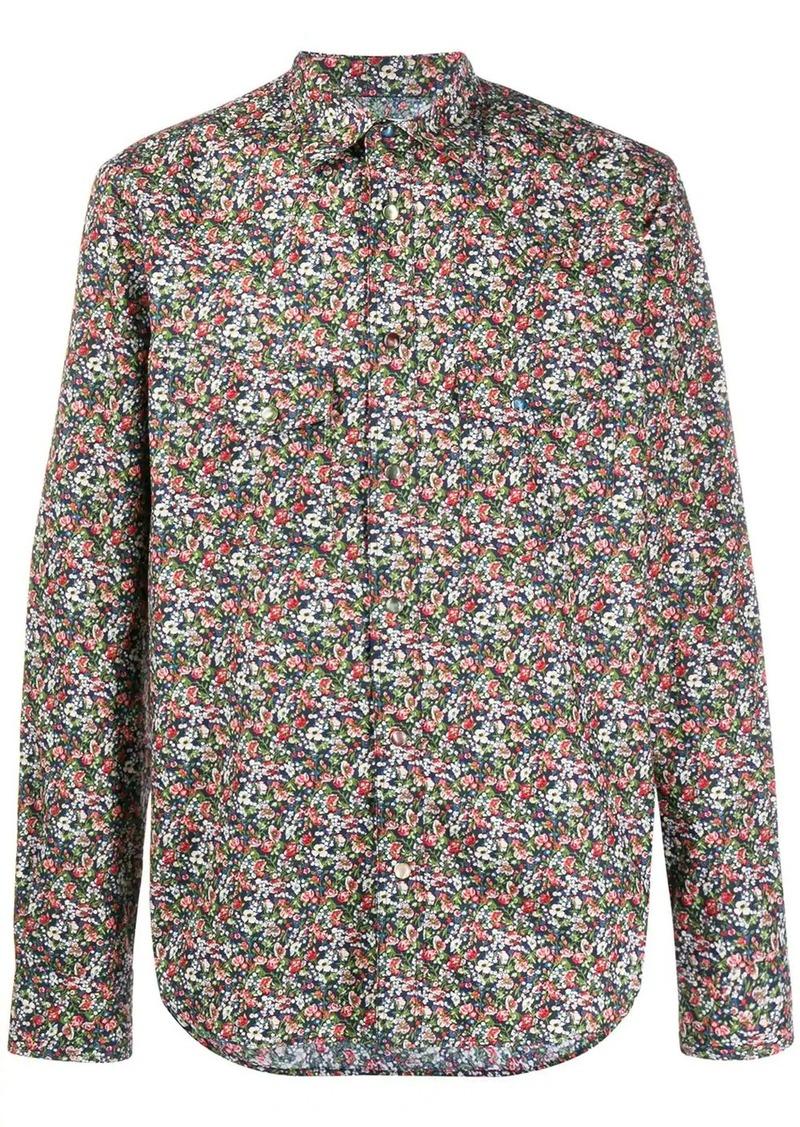 Paul Smith floral print cotton shirt