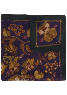 Paul Smith floral print handkerchief