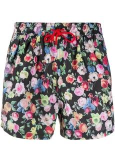 Paul Smith floral print swim shorts