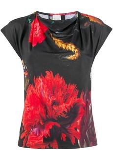 Paul Smith flower print T-shirt