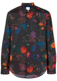 Paul Smith flower printed shirt
