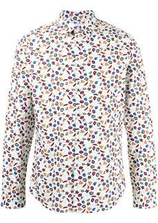 Paul Smith foliage floral print cotton shirt