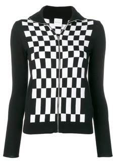 Paul Smith funnel-neck check cardigan