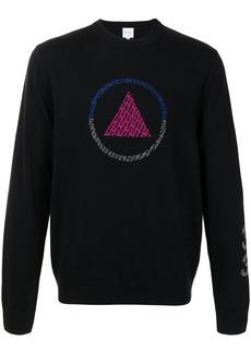 Paul Smith geometric-intarsia knit wool jumper