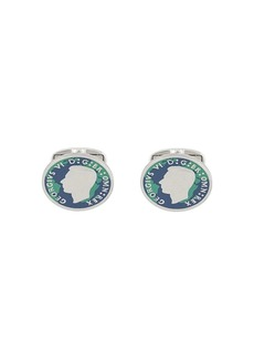 Paul Smith George VI coin cufflink
