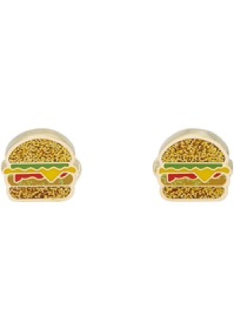 Paul Smith Gold & Multicolor Glitter Junk Food Cufflinks