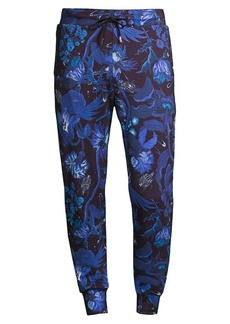 Paul Smith Goliath Floral Jersey Joggers