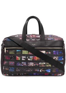 Paul Smith graphic print holdall