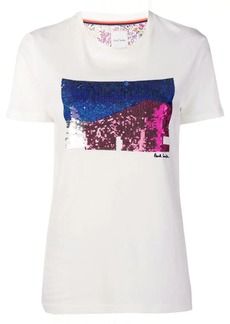 Paul Smith graphic sequin T-shirt