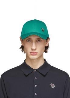 Paul Smith Green Zebra Cap