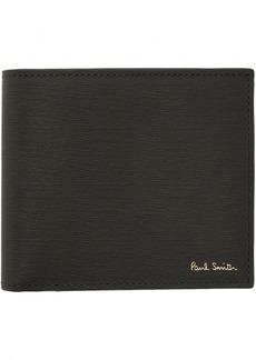 Paul Smith Grey Leather Billfold Wallet