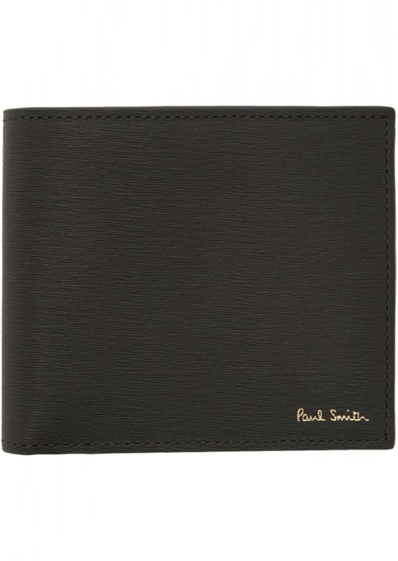 Paul Smith Grey Leather Billfold Wallet