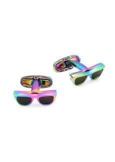 Paul Smith Iridescent Sunglasses Cufflinks