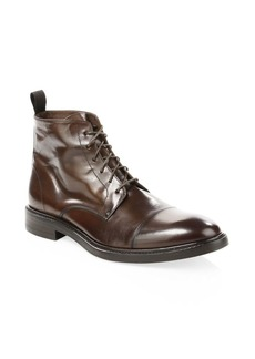 Paul Smith Jarman Lace Up Leather Boots