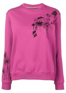 Paul Smith Journal motif sweatshirt