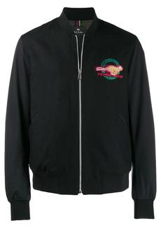 Paul Smith logo bomber jacket