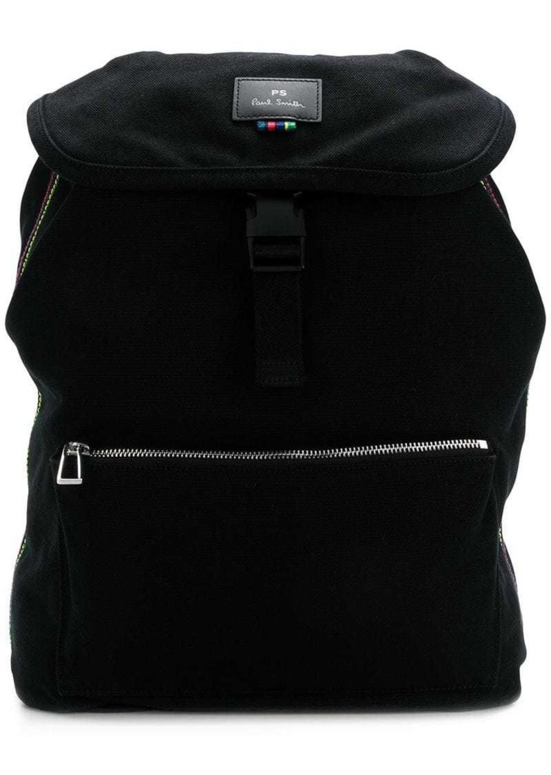 Paul Smith logo buckle-clasp backpack