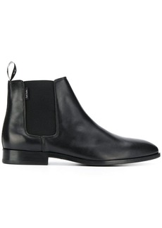 Paul Smith logo chelsea boots