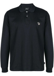 Paul Smith logo embroidered polo shirt
